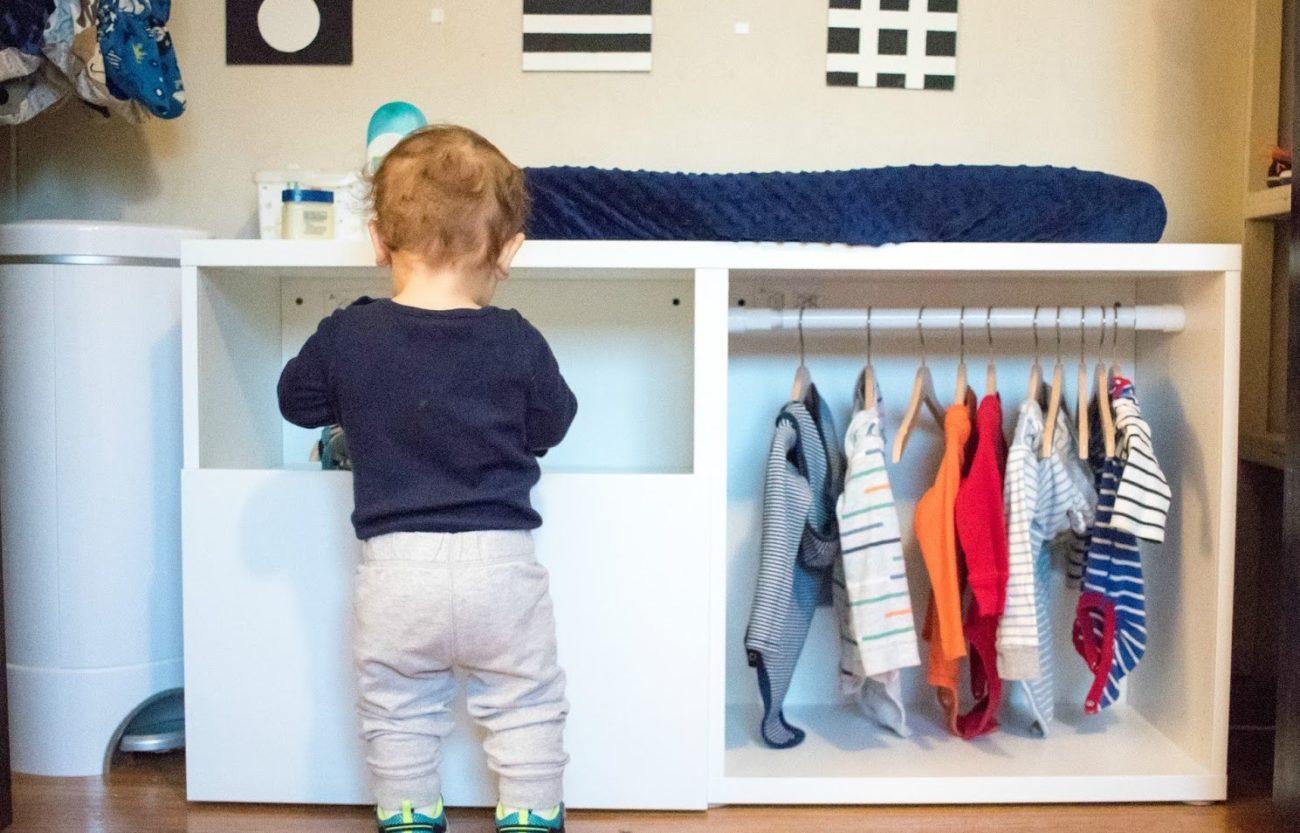 Cómo organizar la ropa de los niños