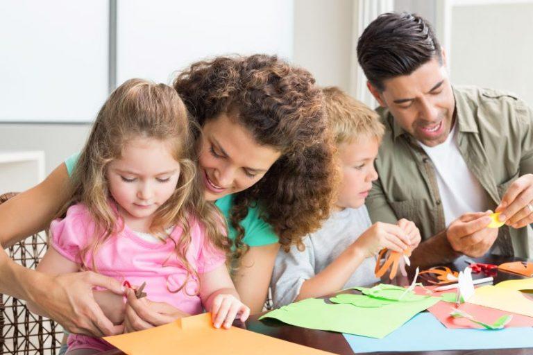 Manualidades fáciles para hacer en casa con la familia